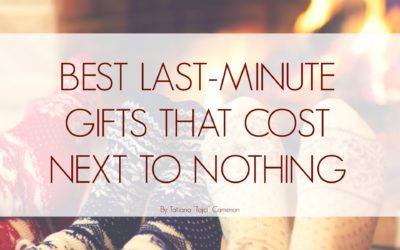 Best Last-Minute Gifts That Cost Next to Nothing