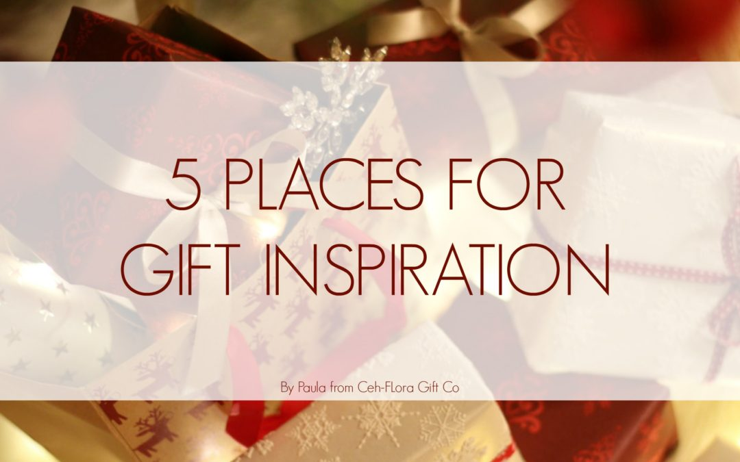 5 Places for Gift Inspiration